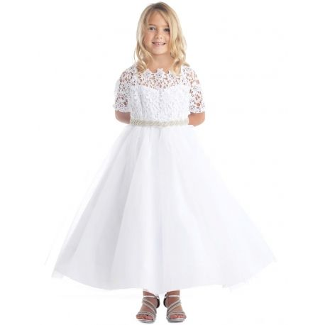 Irish lace dress for toddlers