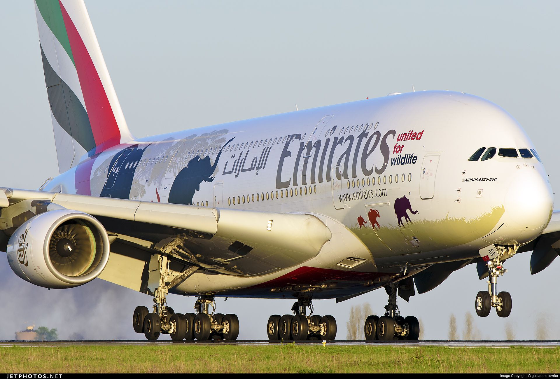High quality photo of A6-EDG (CN: 023) Emirates Airbus A380-861 by guillaume fevrier
