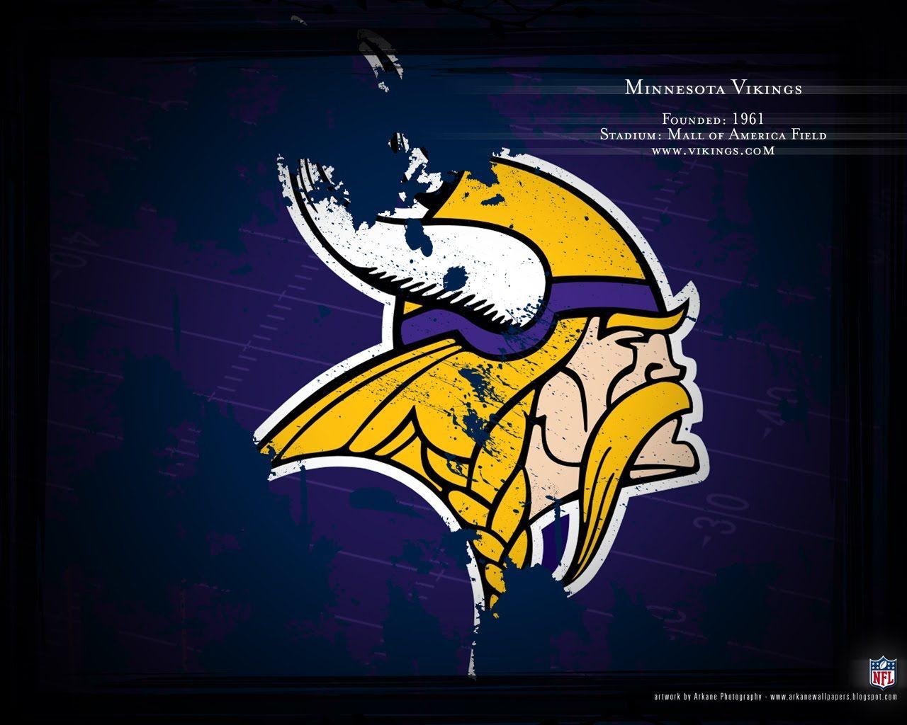 Minnesota Vikings Logo Viking Wallpaper Minnesota Vikings Wallpaper