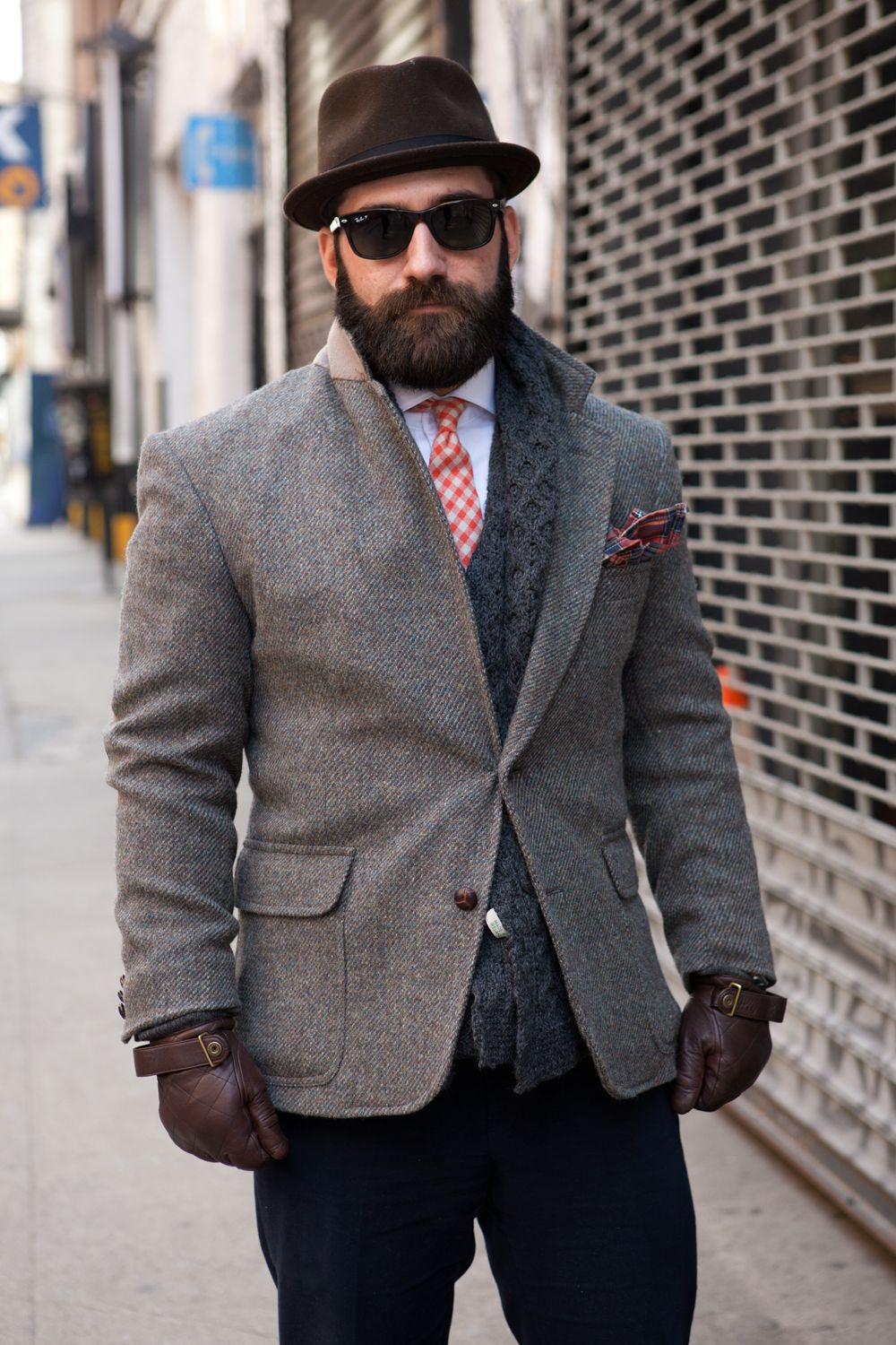 tweed-blazer-men-style-hat-sunglasses-lookbook-streetstyle-nyc ...