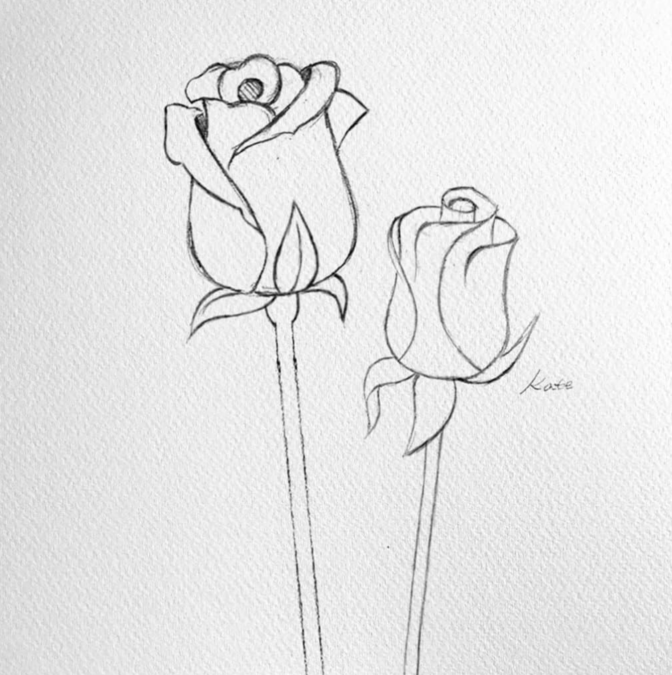 Artist Hue Best Creative Ideas Blog For Artists And Creators In 2020 Flower Drawing Draw Flowers Watercolor Flower Drawing Tutorials