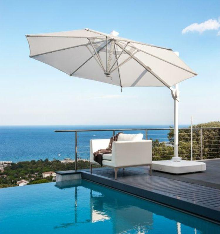 Gartenloungemöbel sonnenschirme rattanmöbel garten lounge möbel pool wohnung