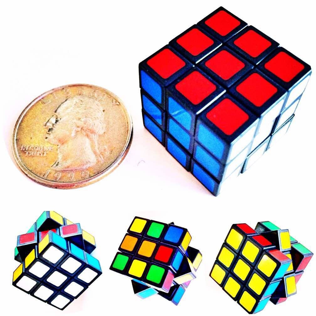 Small Cubes And Limited P: Rubiks Cube 3x3 World's Smallest - Kappa Toys