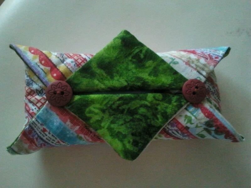 Porta pañuelos de papel para el bolso