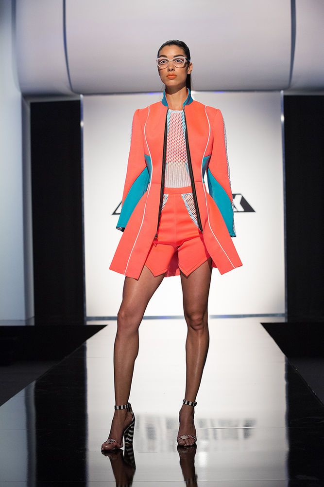 Project Runway Season 15 Ep. 3 Transitions Fashion Show Outfit By Nathalia Jmag