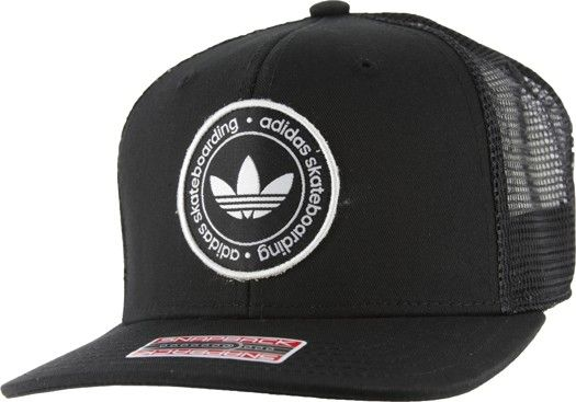 Adidas Skate Trucker Hat - black - Men s Clothing   Hats   Beanies   Hats 668b82653cd