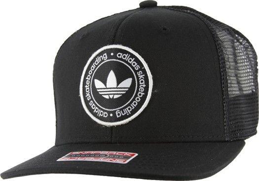63b67fd08 Adidas Skate Trucker Hat - black - Men's Clothing > Hats & Beanies ...