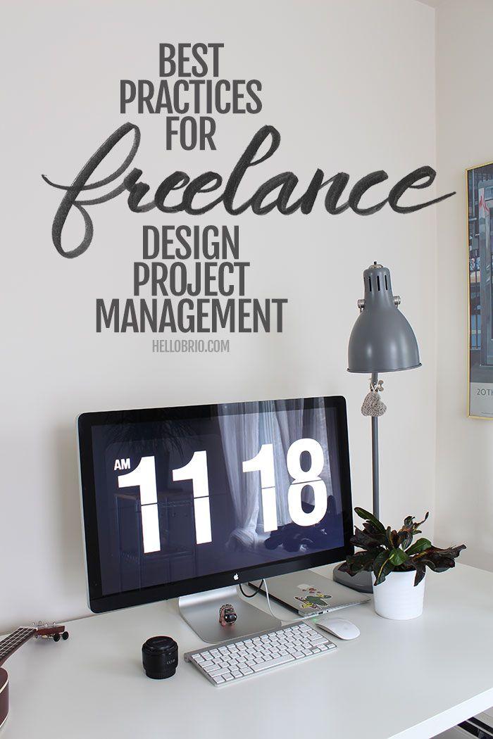 Best Practices For Freelance Design Project Management Hello Brio Web Design Projects Freelance Graphic Design Web Development Design