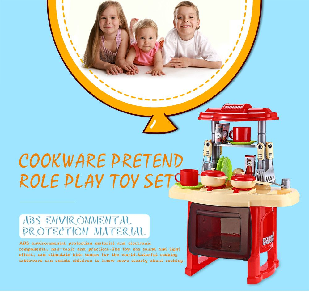 Kids Kitchen Toys Beauty Cooking Toy Play for Children Toys Pretend ...
