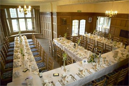 Table Layout - Cragwood Country House Hotel