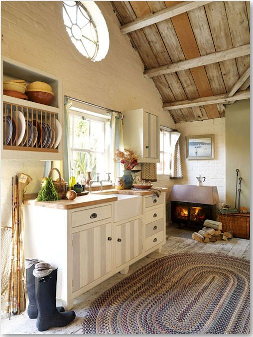 Country Mansion Kitchen