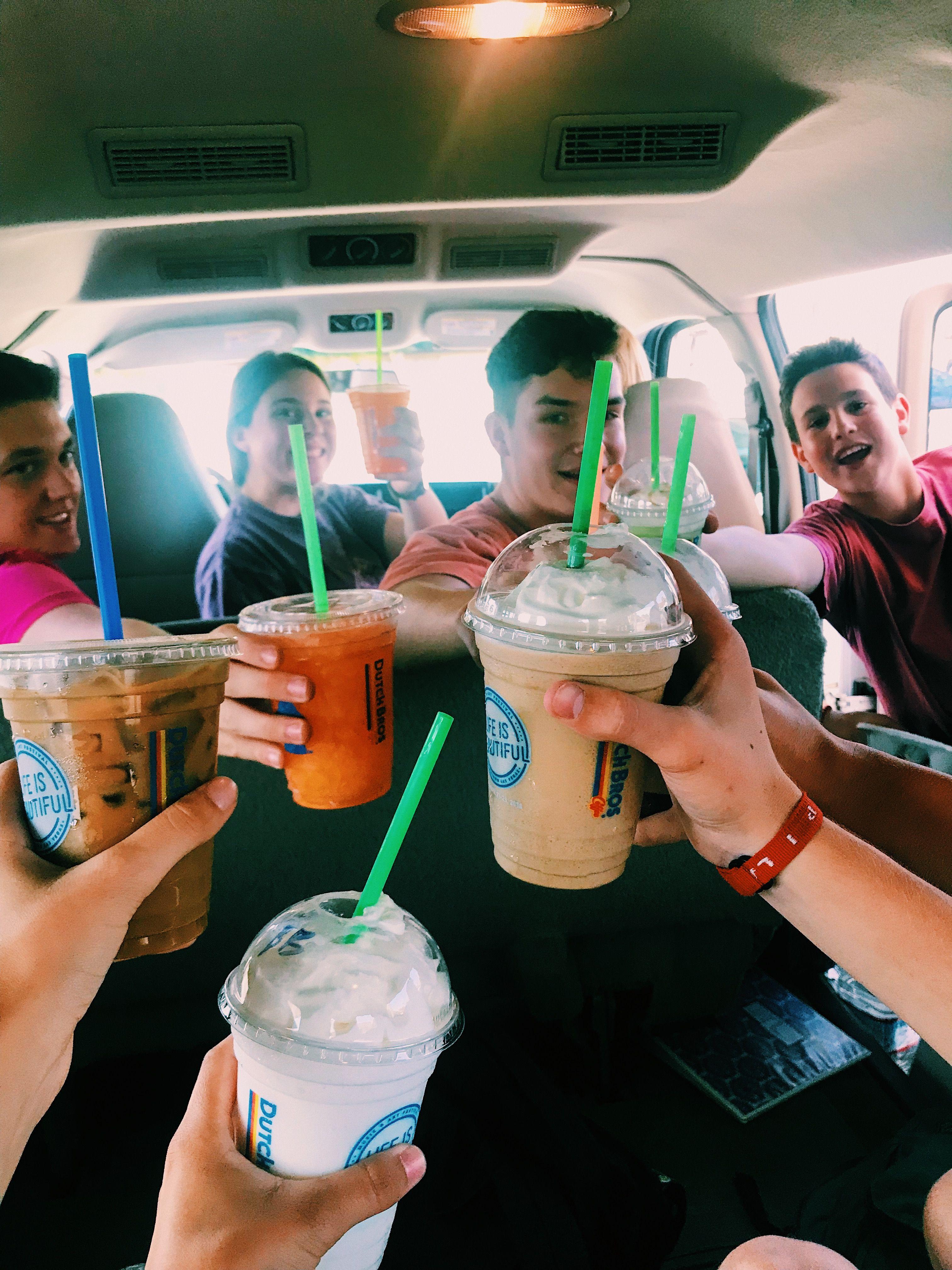 friends + dutch bros coffee #dutchbros