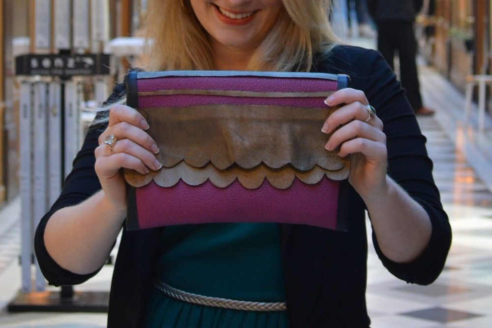 DIY Leather Clutches with NO sewing! Enjoy ;) @Clementine Berlioz