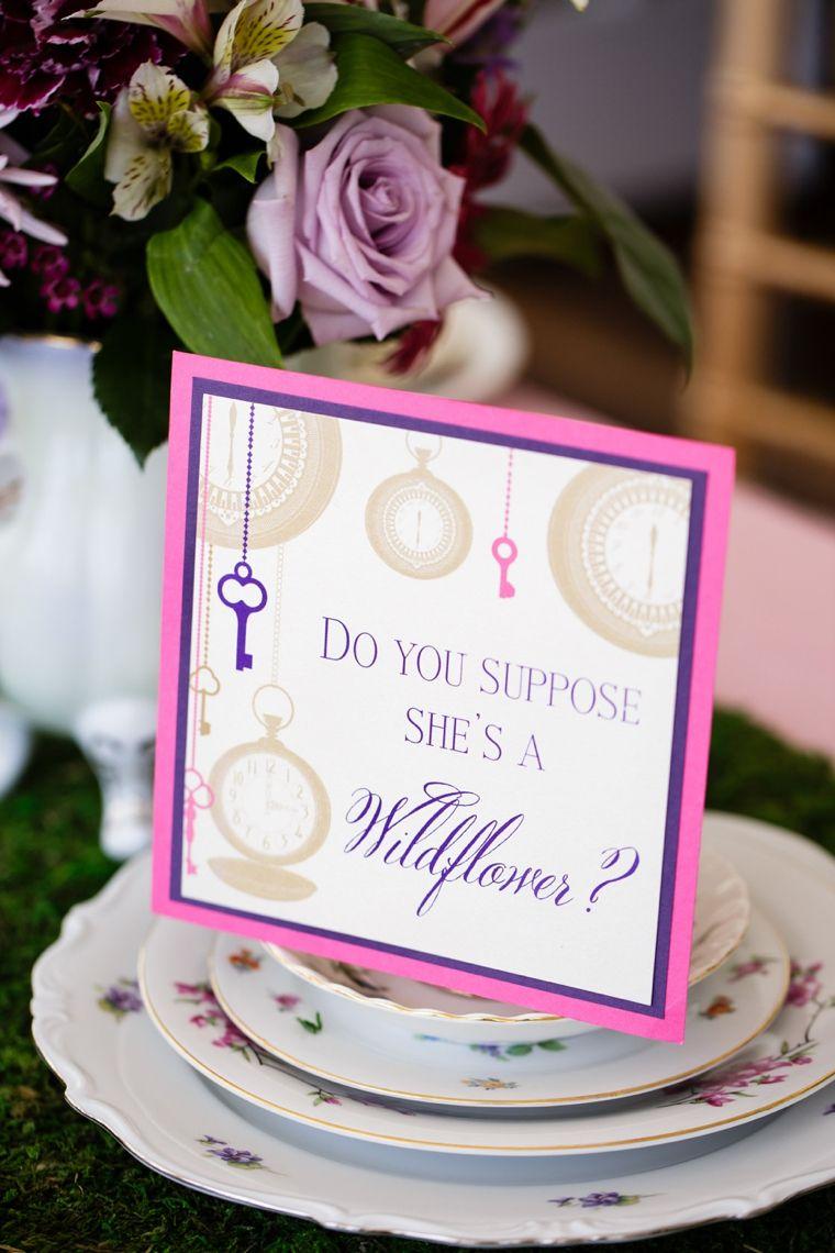 Alice In Wonderland Wedding Ideas | Weddings and Wedding