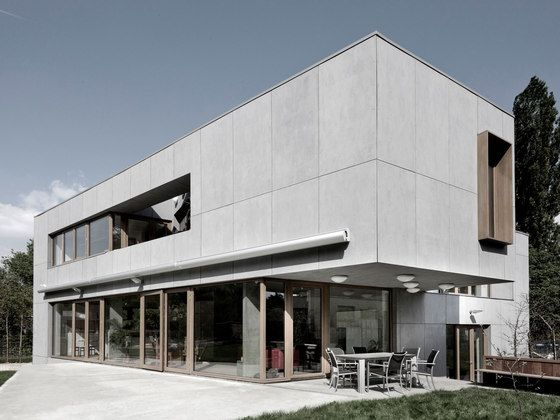equitone tectiva facade design de equitone fa ades mat riaux min ral pinterest. Black Bedroom Furniture Sets. Home Design Ideas