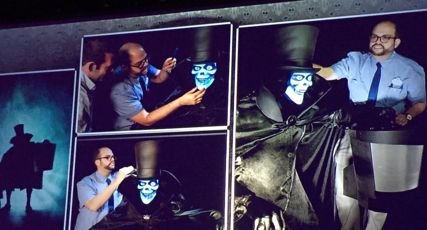 FULL Hatbox Ghost presentation with Disney Imagineers at ScareLA 2015
