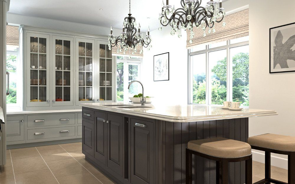 EnglishClassic CGI kitchen for Mark Wilkinson Furniture