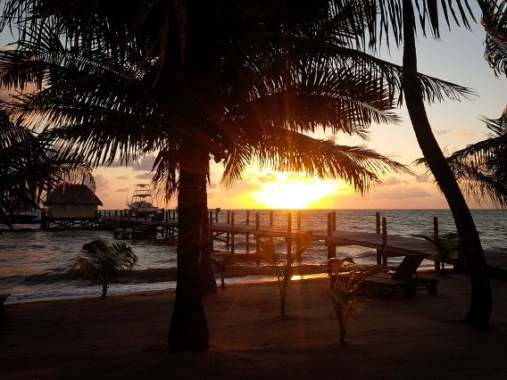 Sunrise at Kanantik Jungle Resort