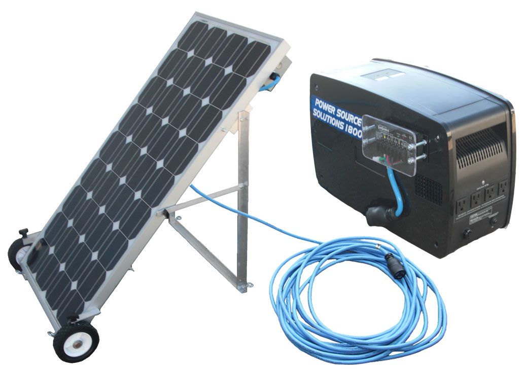 Image result for solar generator