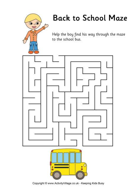Number Names Worksheets simple maze for kids : Pinterest • The world's catalog of ideas