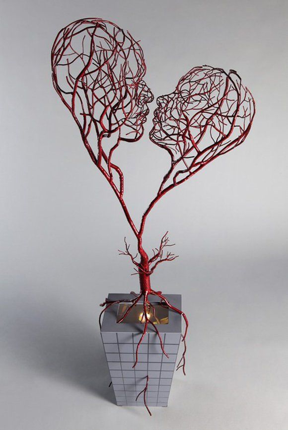 33 Amazing Diy Wire Art Ideas | Draht, Arten und Kunst