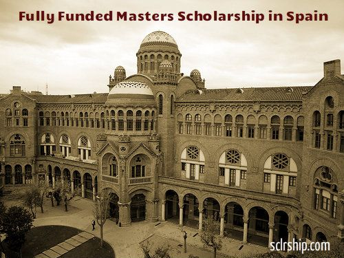 Full Scholarships For Masters Degree At Barcelona Gse In Spain