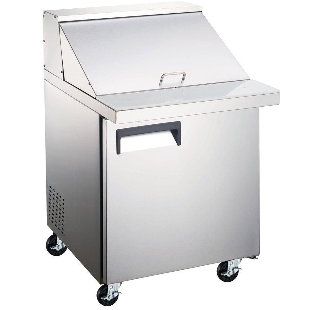 Commercial Single Door Mega Top Sandwich Salad Prep Table 28
