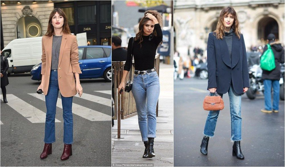 fee3ed9dd779d6 How to Style Ankle Boots + Non-Skinny Jeans (Bonus: Warm Ankles!) - Seasons  + Salt