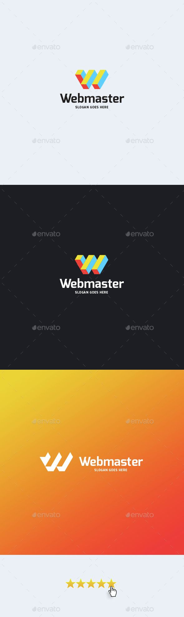 Webmaster u2022 Letter W Logo Template u2014