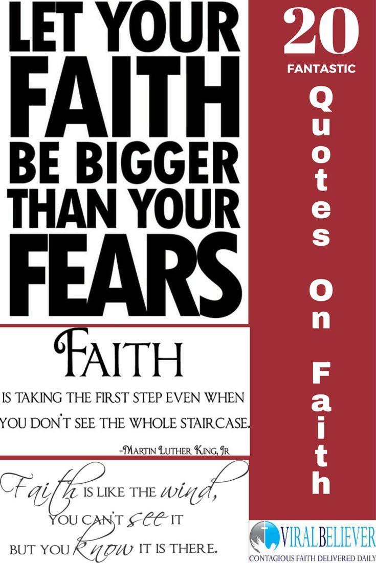 12 Fantastic Christian Quotes About Faith   Viral Believer   Faith ...
