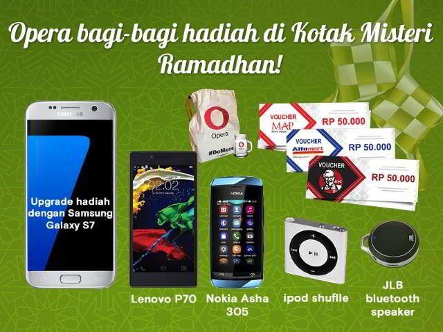 kuis kotak misteri ramadan opera berhadiah smartphone   Kuis ...