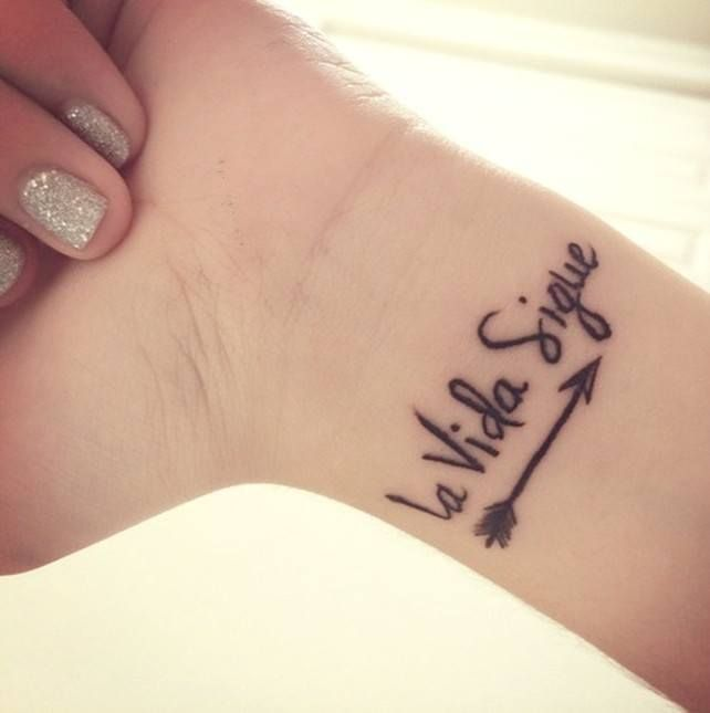 Tattoos With Quick Phrases For Ladies Tattoos Tattoos Spanish