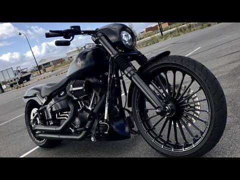 Harley Davidson Fxsb Breakout Black Matt Custom Stringer From Australia Youtube Harley Davidson Harley Harley Davidson Museum