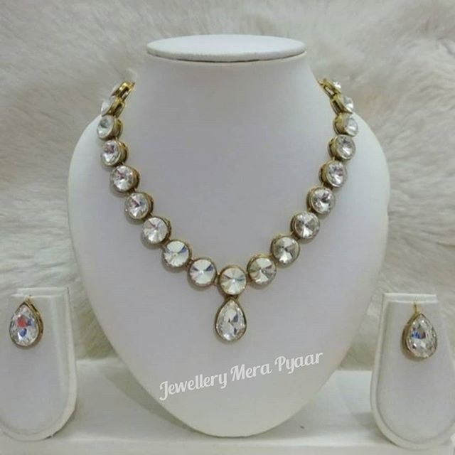 Necklace set Dm or watsapp on 9930367585 for price and order Cod available free Necklace set Dm or watsapp on 9930367585 for price and order Cod available free shipping C...