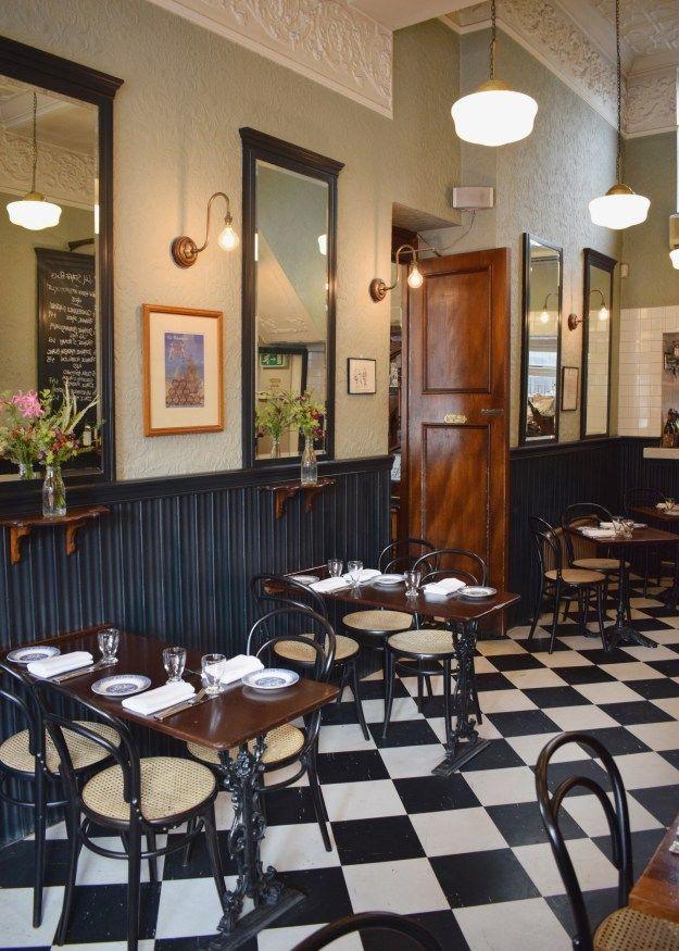 Quality Chop House London, English bistro interiors