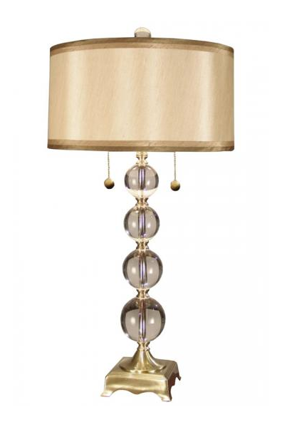 Bling A Bit With This Gold Table Lamp From Home Decorators Collection