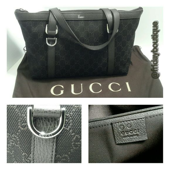 a72ac38626c Authentic Gucci Handbag - New Brownish black in color. New without tags. Gucci  Bags