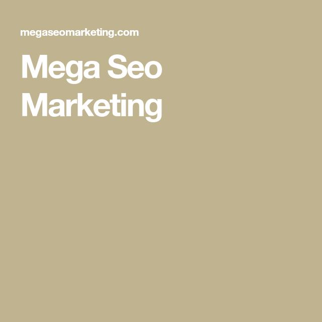 Mega Seo Marketing