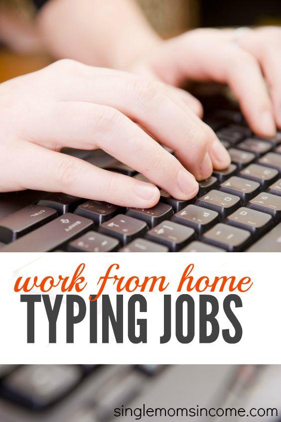 die besten 25 typing jobs ideen auf pinterest extra geld heimarbeitspl tze und eingabe. Black Bedroom Furniture Sets. Home Design Ideas
