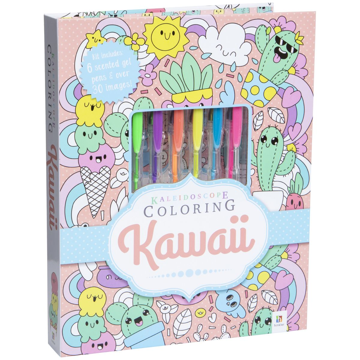 Kawaii Kaleidoscope Coloring Book Five Below Coloring Books Art And Craft Kit Kawaii