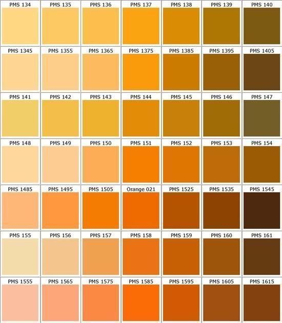 Custom Color - Matte Polish Barvy Pinterest - sample pms color chart
