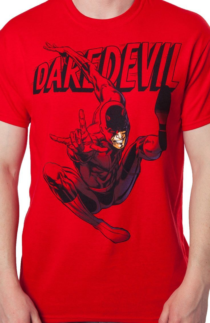 38fc94a23c06 Daredevil T-Shirt  Super Heroes Marvel Comics Daredevil Shirt