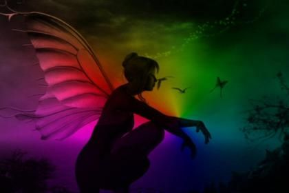 Rainbow Fairy 148676 High Quality And Resolution