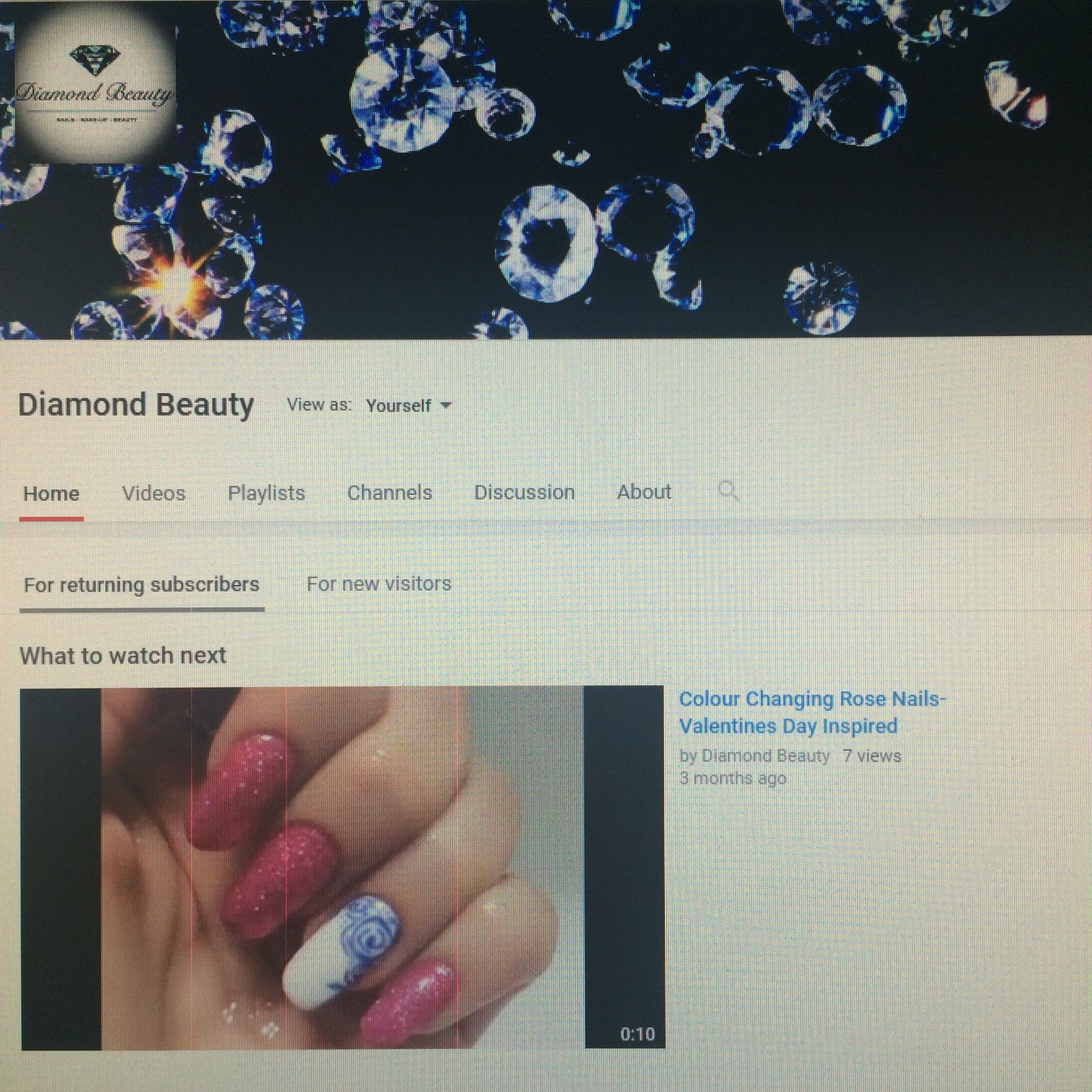 I STARTED A #YOUTUBE CHANNEL!!! Will be posting my first tutorial in #June! #Subscribe to see everything #Nails, #Makeup-up and #Beauty! https://youtu.be/ZdnJXLu4U1w