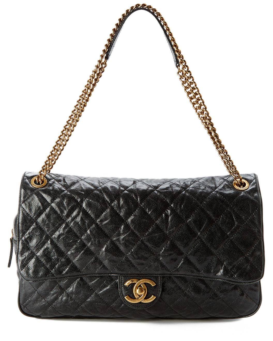 5d9edbf4d50c Spotted this Chanel Black Quilted Caviar Leather XL Shiva Flap Bag on Rue  La La. Shop (quickly!)
