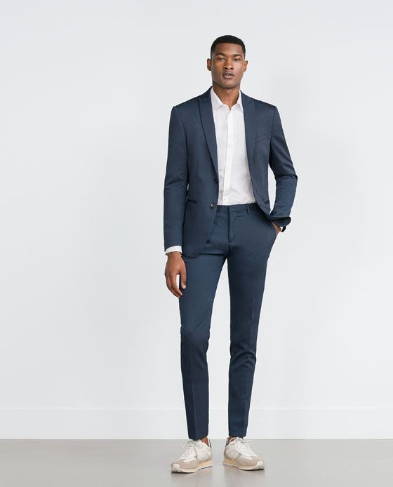 Zara Man Basic Suit