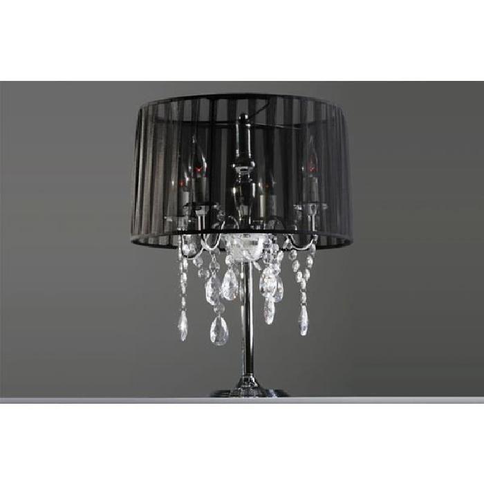 Lampe De Chevet Baroque A Pampilles Lampe De Table Deco Chambres