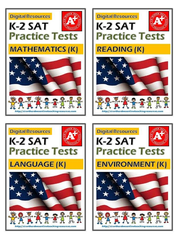 Prepare your K-2 students for the upcoming SAT with the help of ...