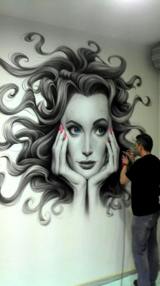 JUANJO BARON. #street art #graffiti