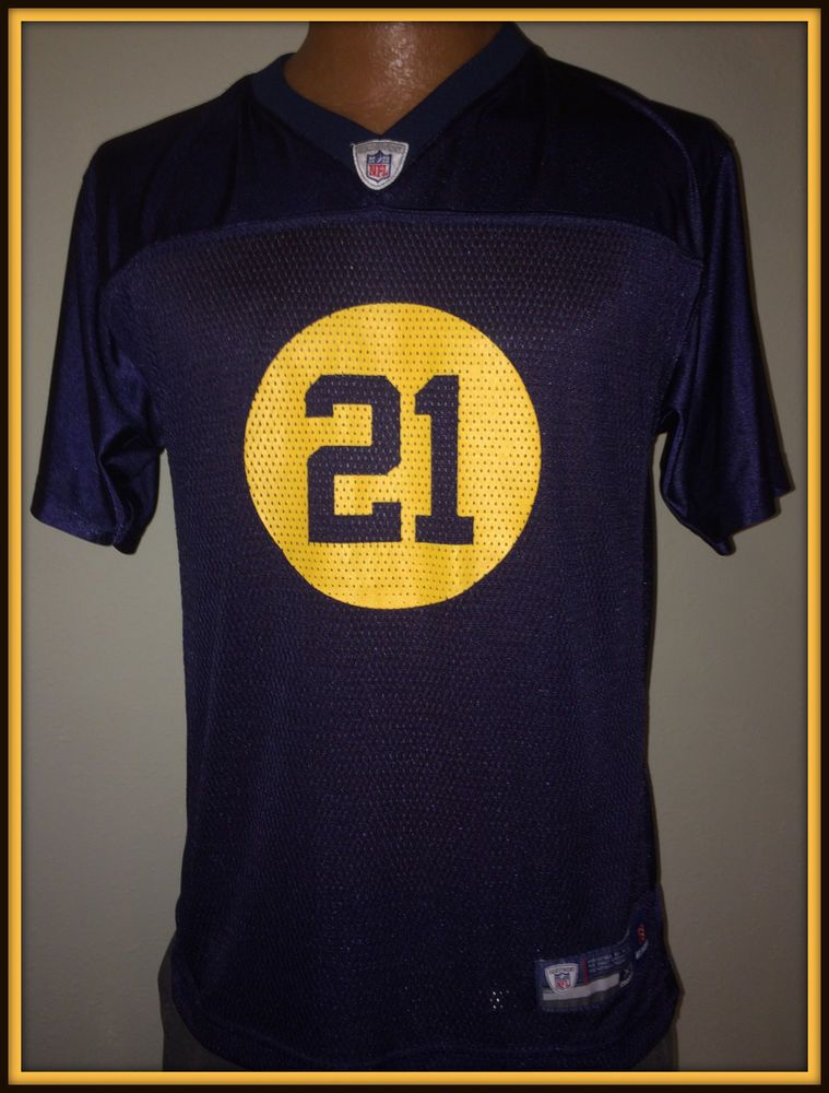 uk availability dd851 1b6cb Details about Brett Favre Green Bay Packers 4 NFL Throwback ...